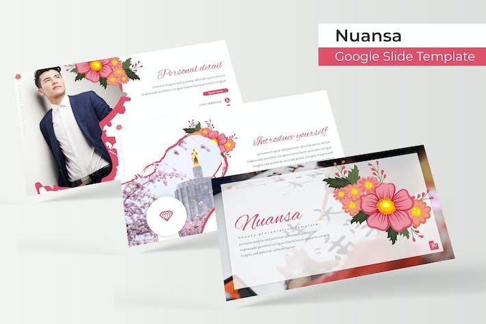 Thumbnail for Nuansa - Plantilla de Presentación de Google