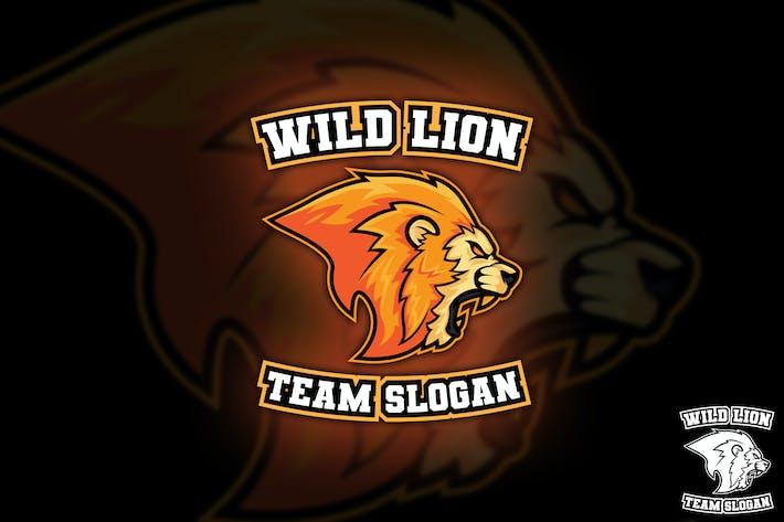 Thumbnail for Wild Lion Sport Logo Mascot