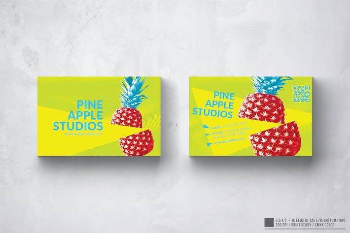 Pineapple Studio Visitenkarten-Design
