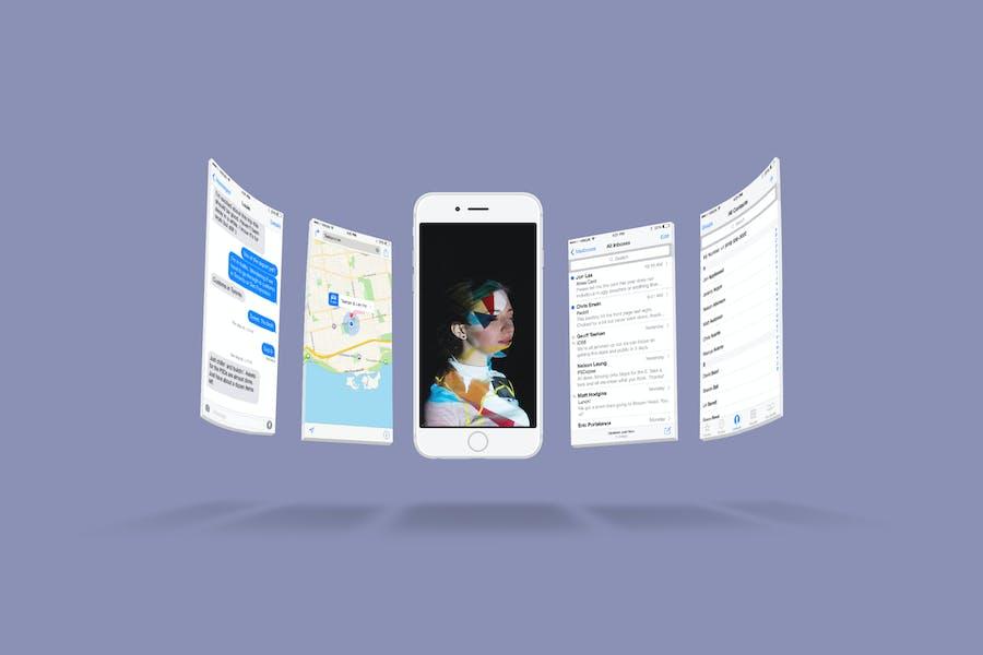 iPhone 6s Screen Mockup