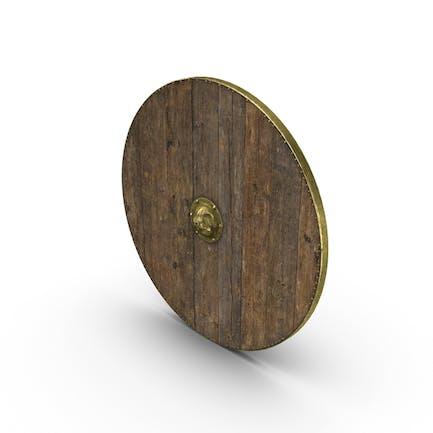 Escudo De madera medieval