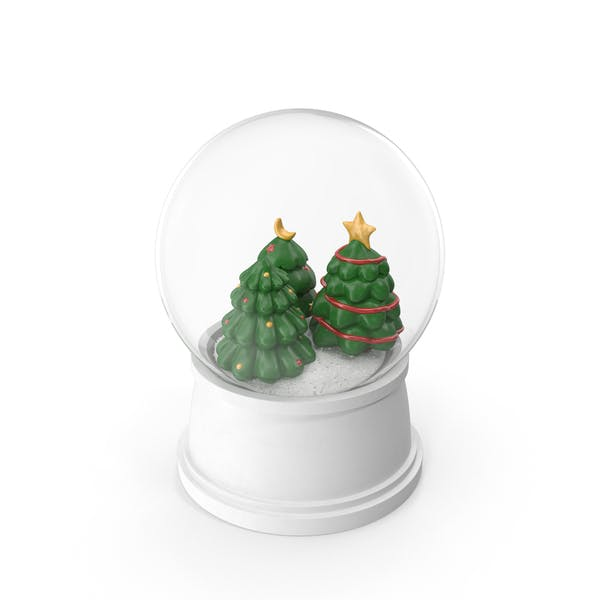 Thumbnail for Christmas Tree Snow Globe