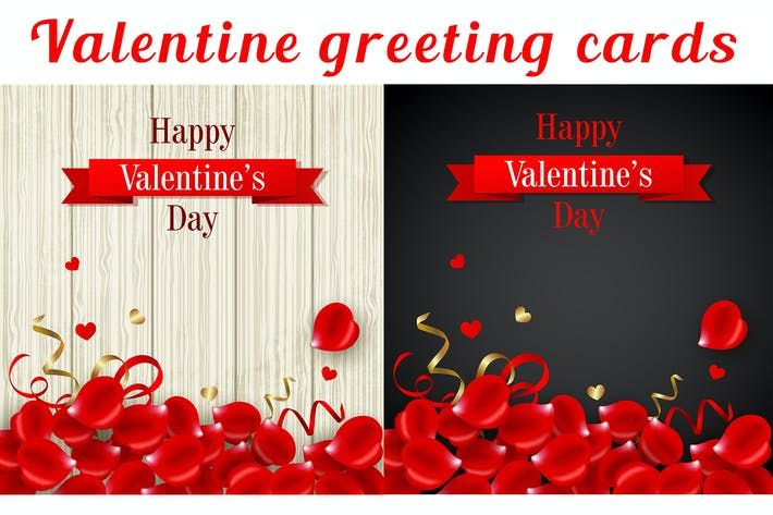 Cover Image For Valentines's Day Greeting Cards