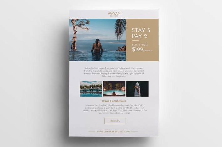 Thumbnail for Hotel Resorts Flyer