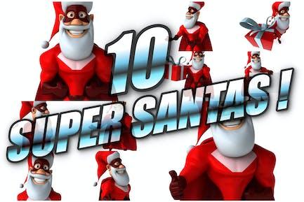 10 Super Weihnachtsmann!
