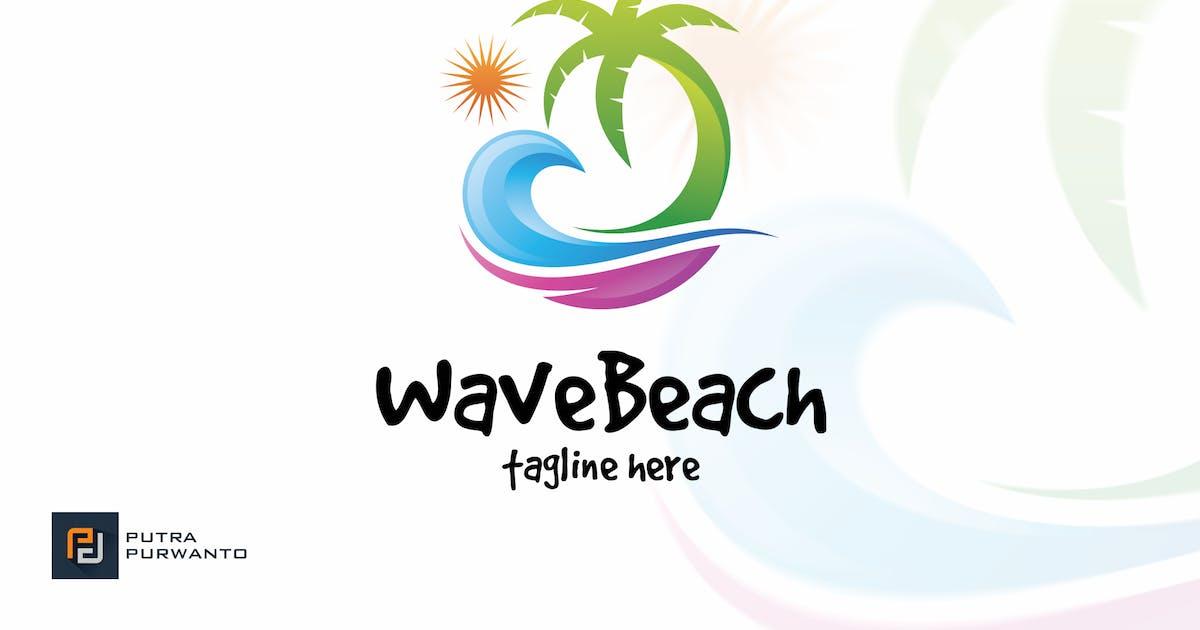 Download Wave Beach - Logo Template by putra_purwanto