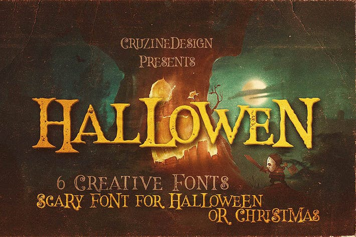 Thumbnail for Hallowen Typeface