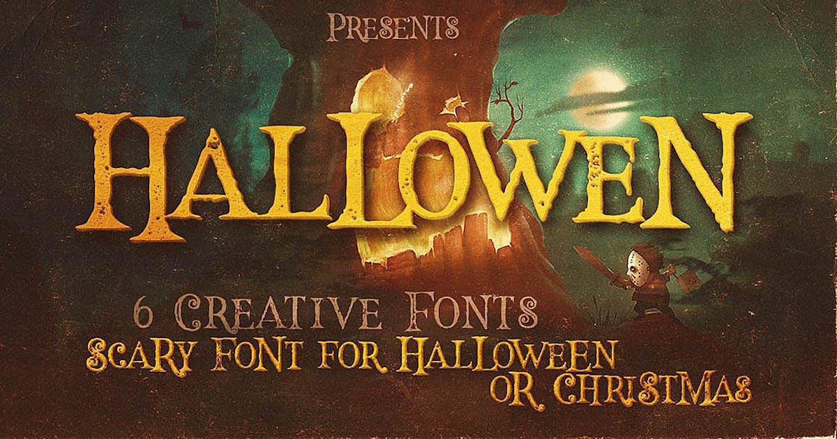 Download Hallowen Typeface by cruzine