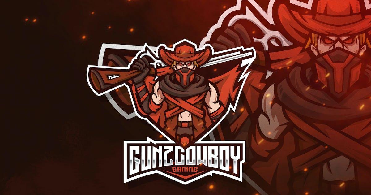 Download Gunz Cowboy Esport Logo Template by StringLabs