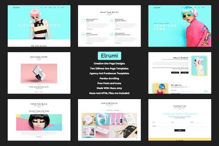 Elrumi - Creative Muse Template