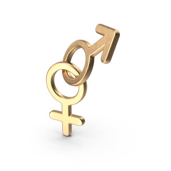 Feminine männlich Beginning Gold