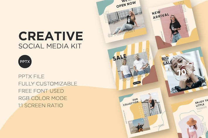 Thumbnail for Creative Social Media Kit