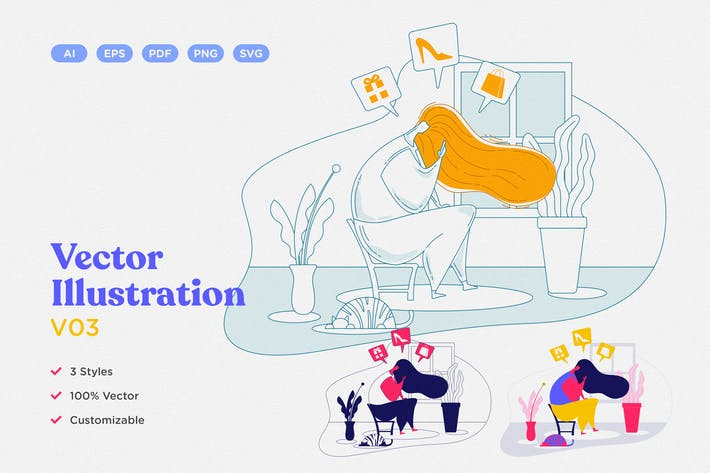 Thumbnail for Vector Illustration V03