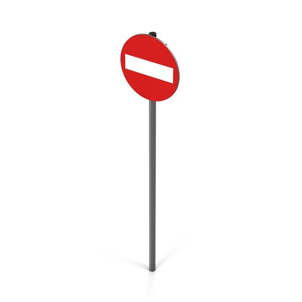 Do Not Enter Sign Red