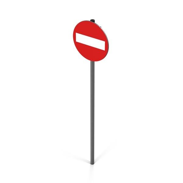 Nicht eingeben Zeichen rot