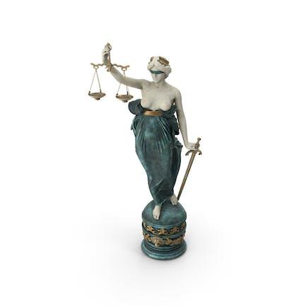 Dame Gerechtigkeit