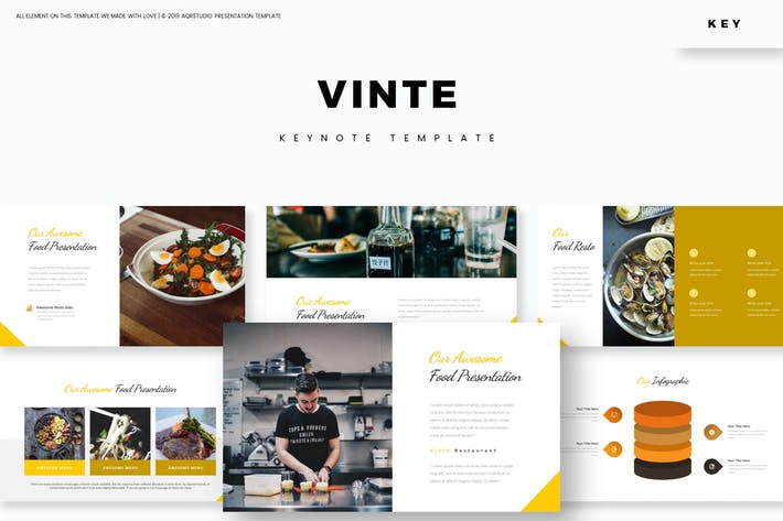 Cover Image For Vinte - Keynote Template