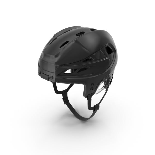 Thumbnail for Black Hockey Helmet