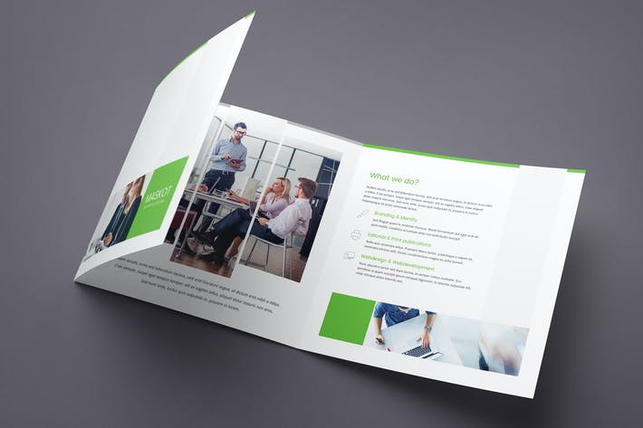 Thumbnail for Maskot – Business and Corporate Brochure Tri-Fold