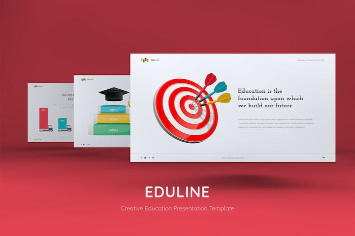 Thumbnail for EDULINE - Education & Creative template (PPTX)