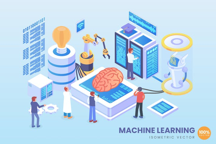 Thumbnail for Isometric Machine Learning Vector Concept