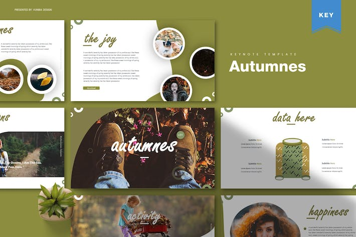 Thumbnail for Autumnes | Keynote Template