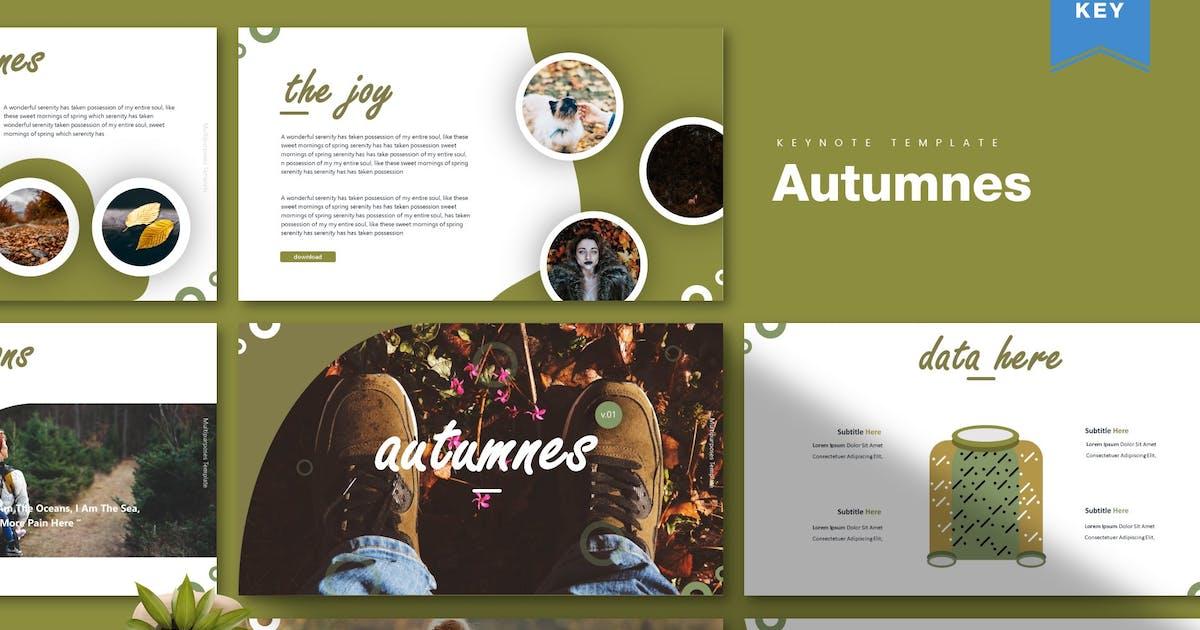 Download Autumnes | Keynote Template by Vunira