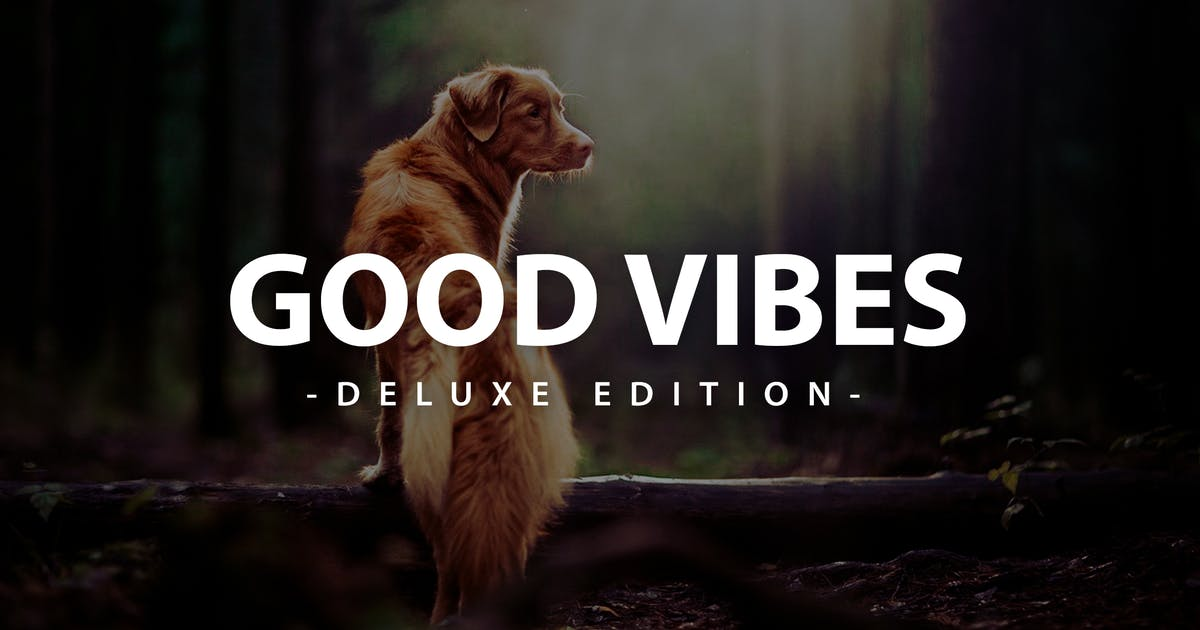 Download Good Vibes Deluxe Edition | Fro Mobile and Desktop by LightPreset