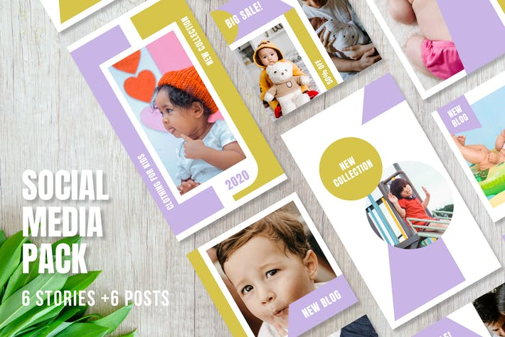 Thumbnail for Templates for Instagram - Stories & Posts - Vol.4