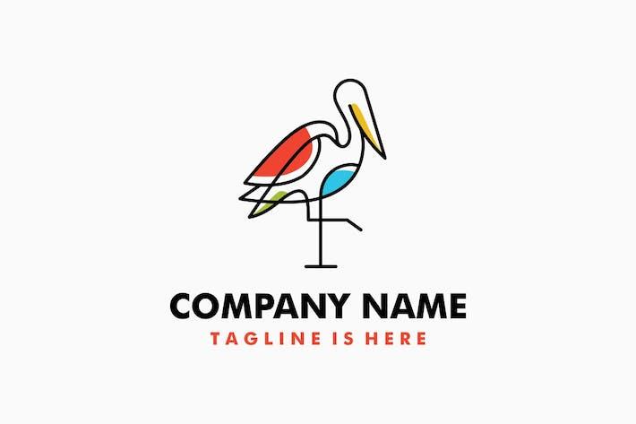 Thumbnail for Stork Logo Template