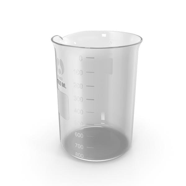 Стеклянный лабораторный стакан