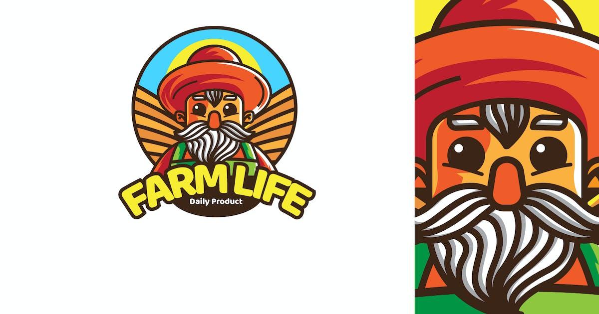 Download FARM LIFE - Mascot & Esport Logo by aqrstudio