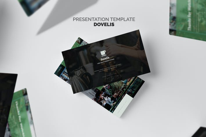 Thumbnail for Dovelis : Coffee Shop & Roastery Powerpoint