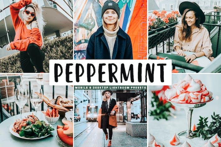 Thumbnail for Peppermint Mobile & Desktop Lightroom Presets