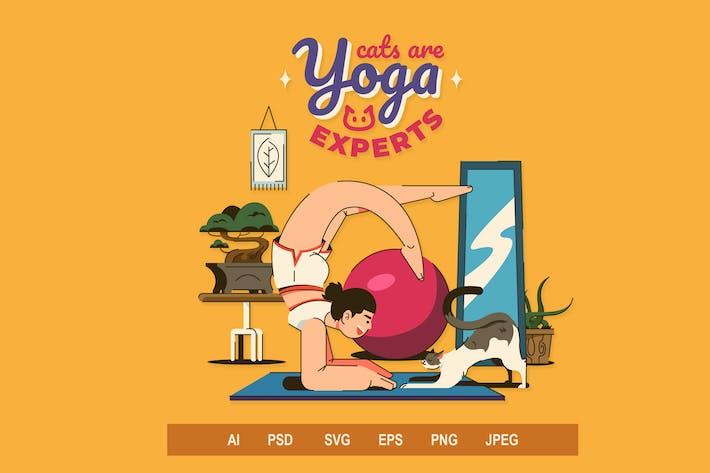 Yoga V2 - Illustrationen
