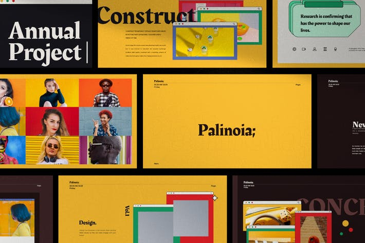 Palinoia - Creative Business Powerpoint