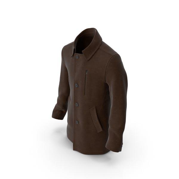 Thumbnail for Mens Coat Brown