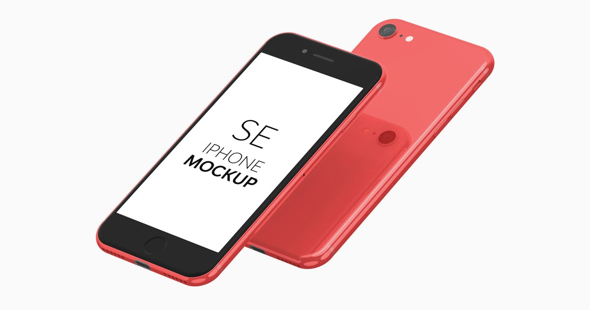 Download iPhone SE Mockup by UnicDesign