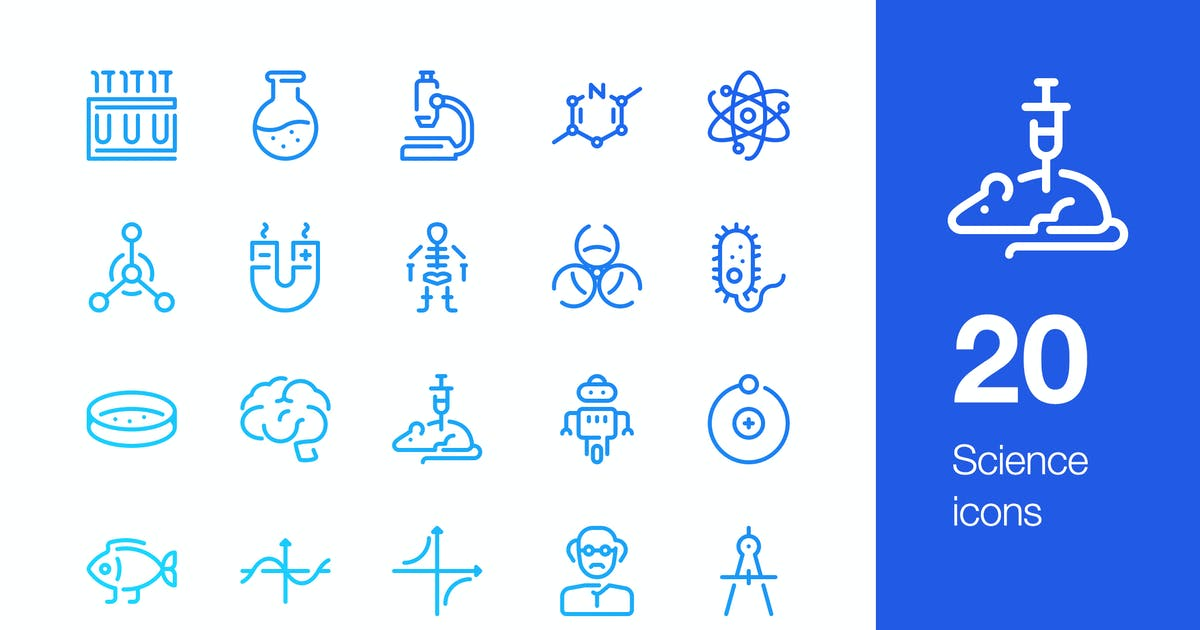Download 20 Science icons by mir_design