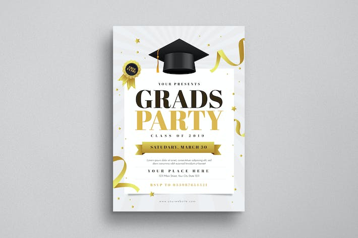Thumbnail for Graduation Party Flyer