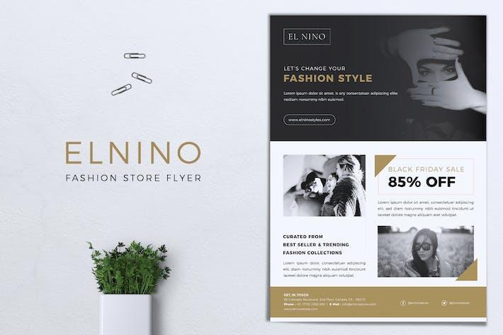 Thumbnail for ELNINO Fashion Store Flyer