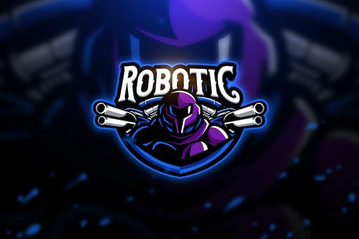 Robotic - Mascot & Esport Logo