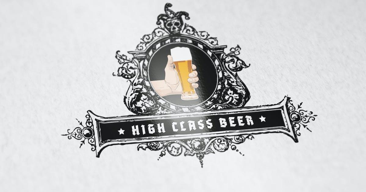 Download High Class Beer Logo Template by SmartDesigns_eu
