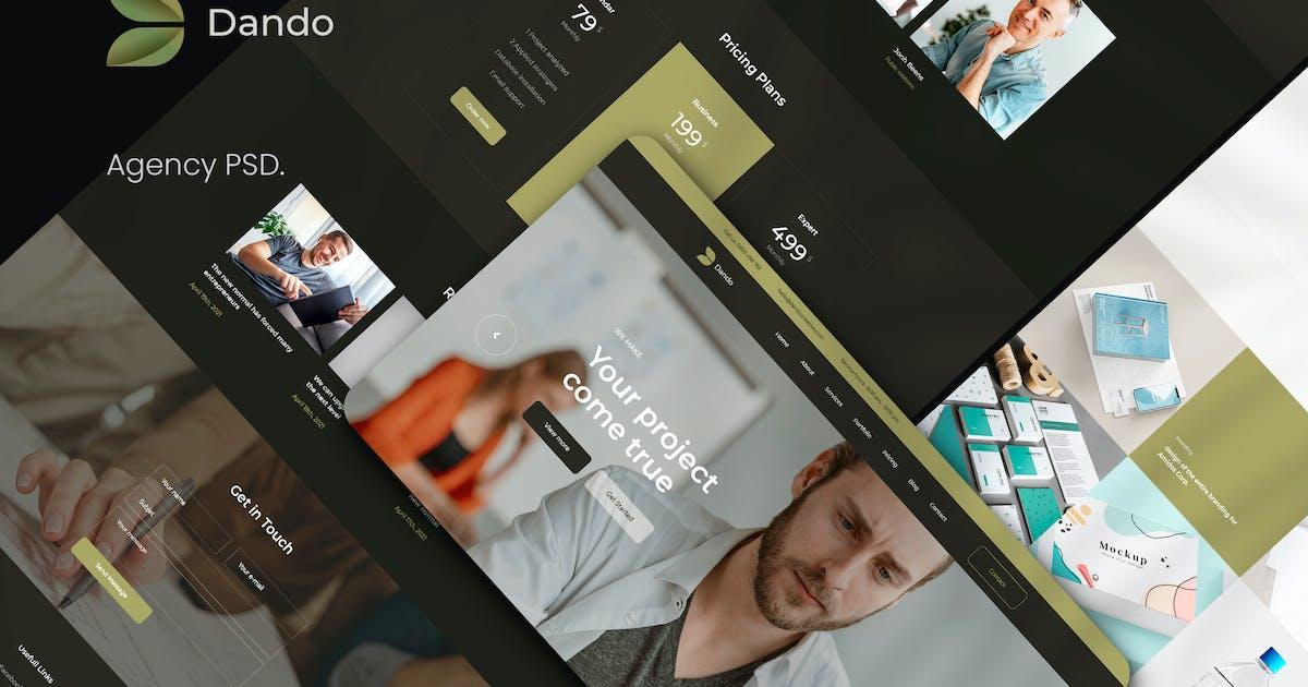 Download Dando Agency PSD Template by TexTheme
