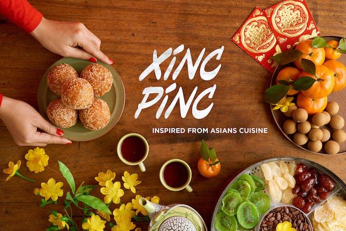 Xincpinc - Fuentes inspiradas en la cocina asiática