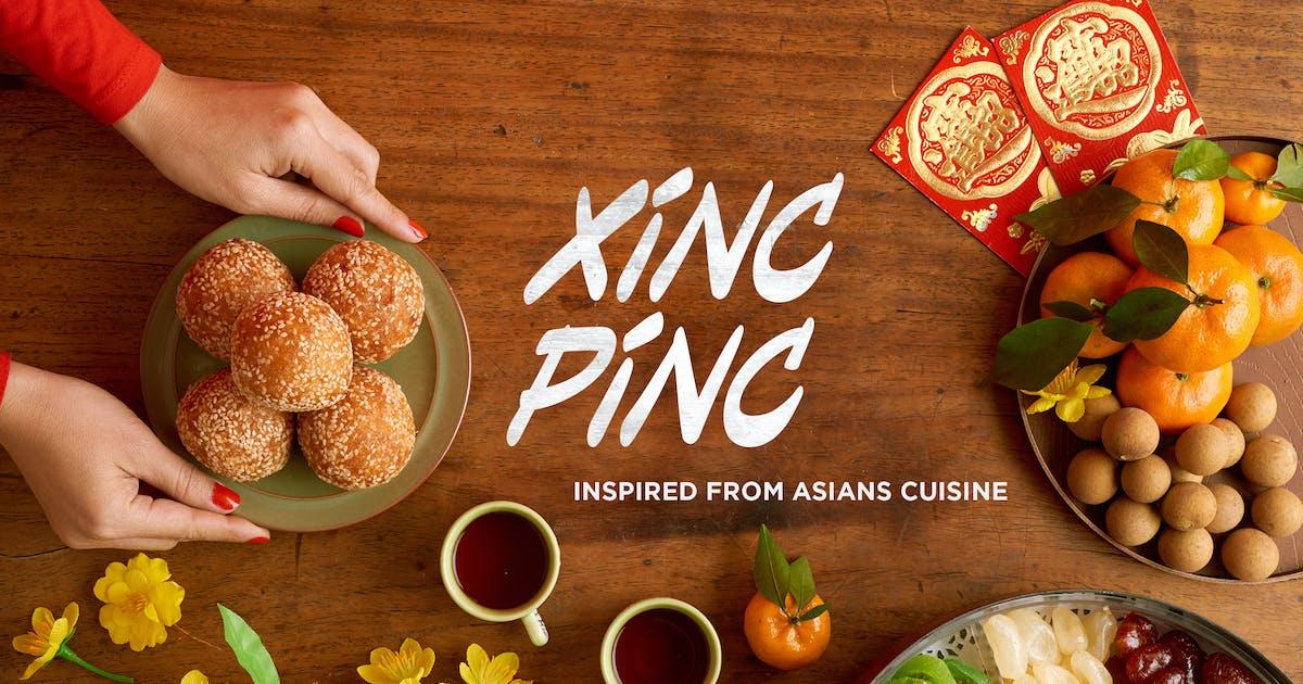 Download Xincpinc - Asian Cuisine Inspired Fonts by konstantinestudio