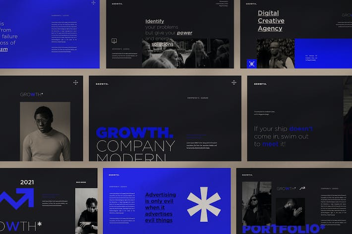 Thumbnail for Growth Powerpoint Template