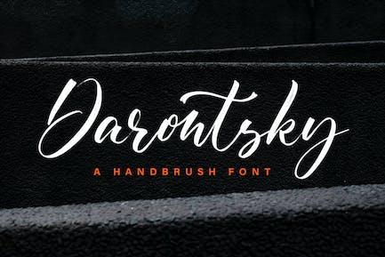 Darontsky - Brush Font
