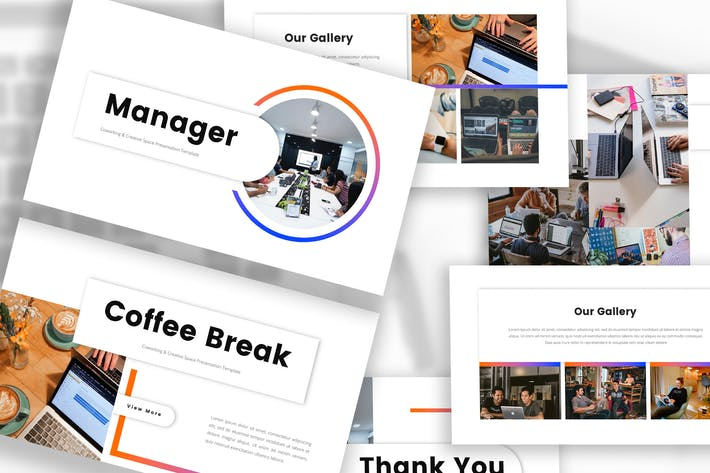 Thumbnail for Co Working & Creative Space Keynote Template