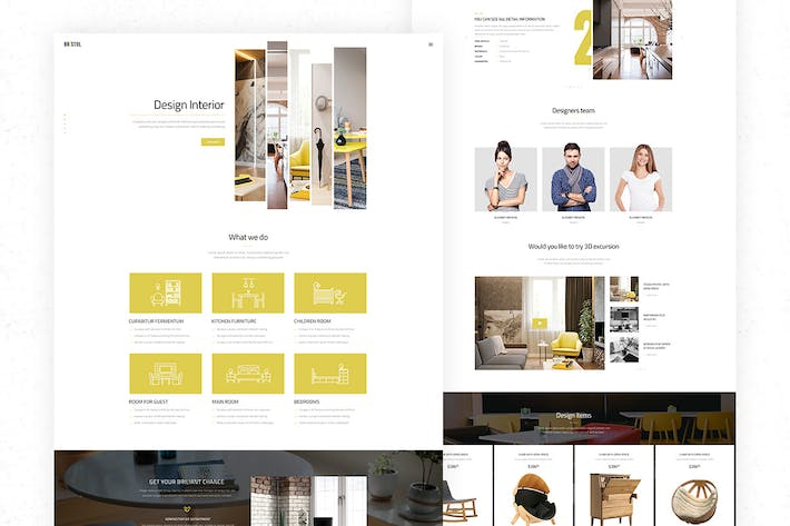Cover Image For Bristol - Decor, Furniture eCommerce HTML Template